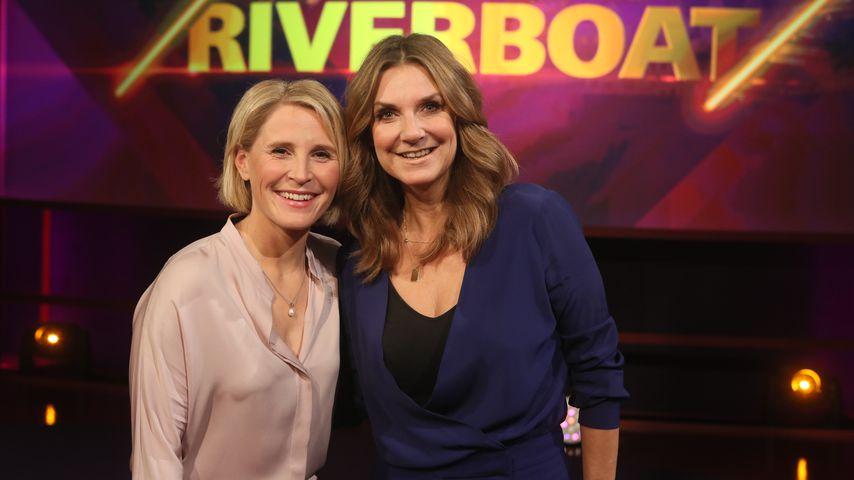 """Susan Link und Kim Fisher bei """"Riverboat"""""""