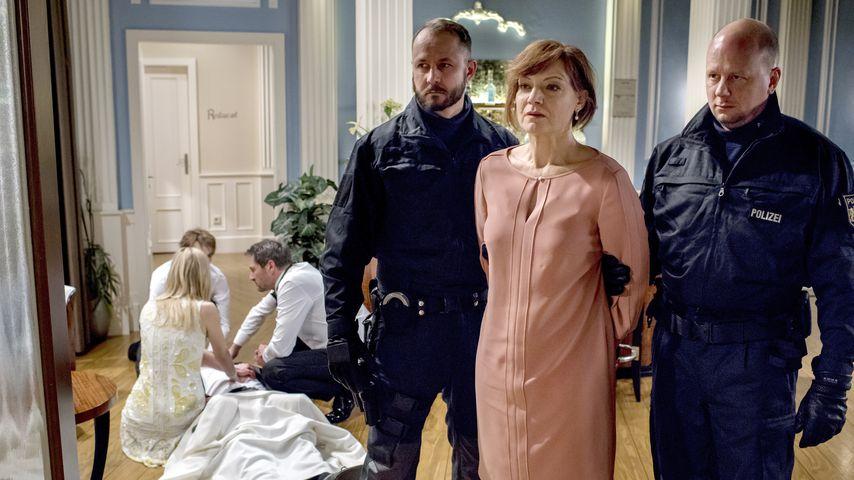 """Susan Newcombe (Marion Mitterhammer) bei ihrem """"Sturm der Liebe""""-Ausstieg"""