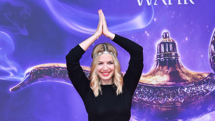 """Susan Sideropoulos bei der Premiere von """"Aladdin"""" in Berlin"""
