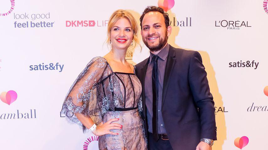 Süße Ausnahme: Susan Sideropoulos mit Ehemann auf Red Carpet