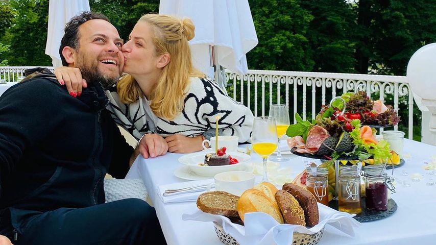 Susan Sideropoulos und ihr Mann Jakob Shtizberg