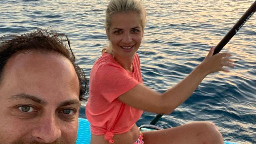 Susan Sideropoulos und ihr Mann Jakob im Juli 2021