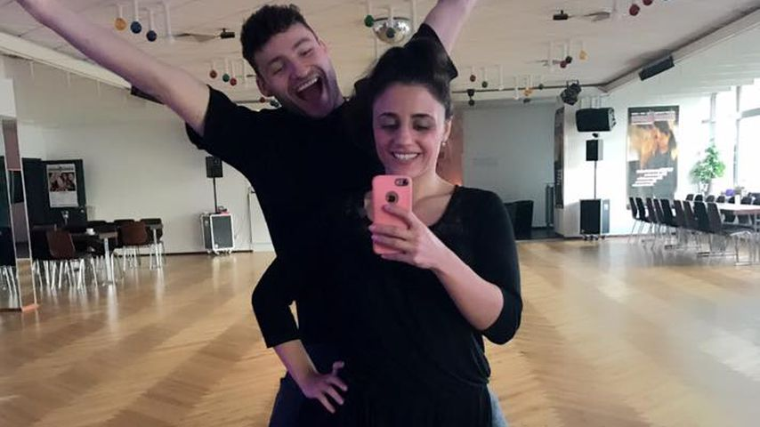 "Megafleißig: Susi Kentikian trainiert für ""Let's Dance""!"