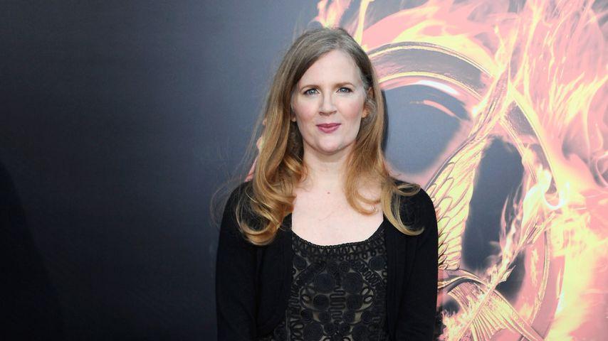 """Suzanne Collins bei der Premiere von """"The Hunger Games"""", 2012"""