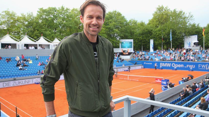 Sven Hannawald beim BMW Open in München, 2018