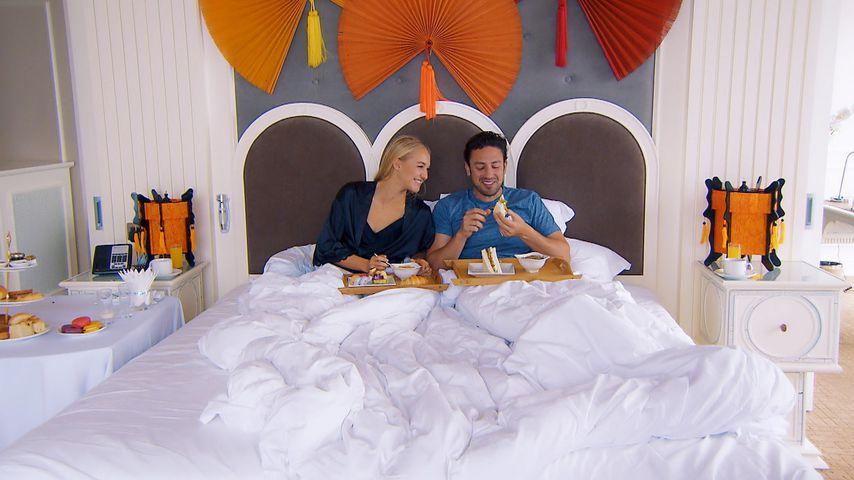 Sex-Bachelor: Geht Daniel mit allen drei Ladys ins Bett?