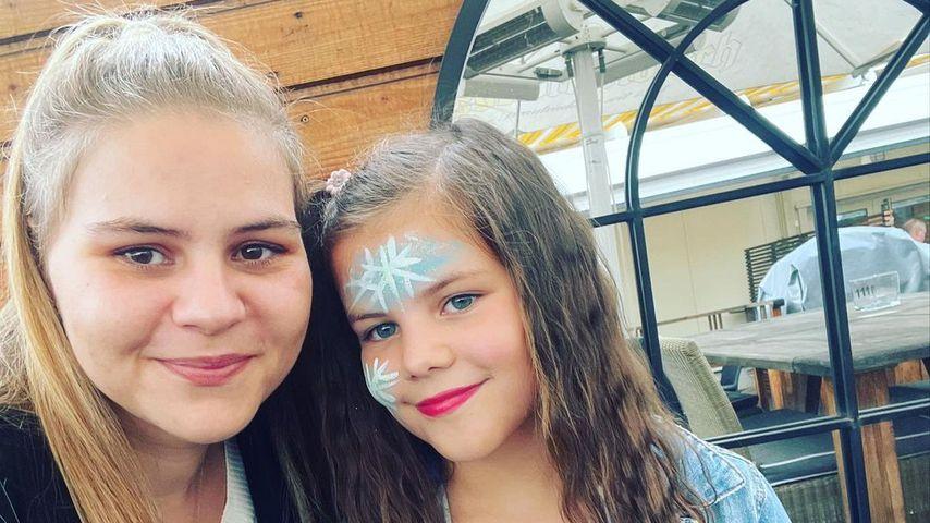Sylvana Wollny mit ihrer Tochter Celina-Sophie, September 2021