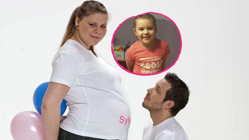 """Sylvana Wollnys Tochter happy: """"Ich werde große Schwester!"""""""