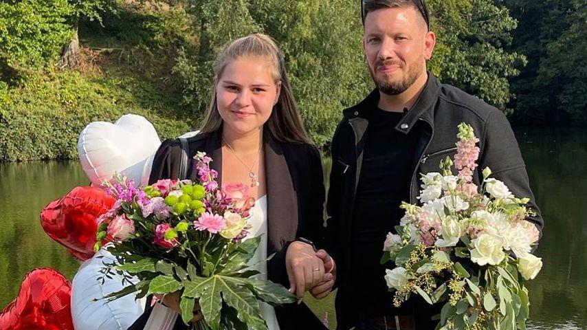 Sylvana Wollny und Florian Köster im September 2021