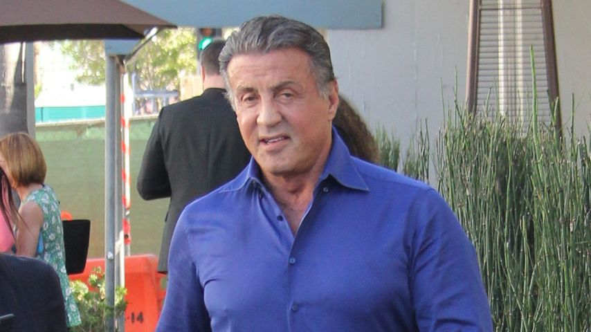 Sylvester Stallone unterwegs in Beverly Hills