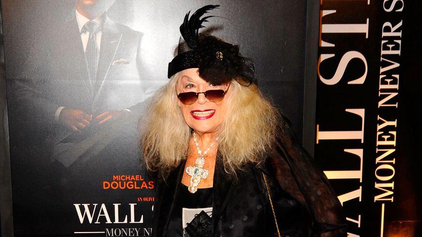 Sylvia Miles im September 2010 in New York