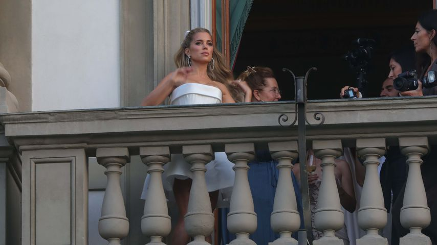 Sylvie Meis bei ihrer Hochzeitsparty