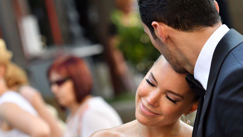 Sylvie Meis und Charbel Aouad auf der Hochzeit von Victoria Swarovski