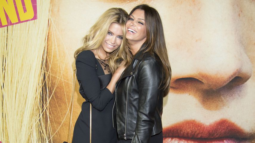 """Sylvie Meis und Sabia Boulahrouz 2013 bei der Premiere zu """"Heute bin ich blond"""""""