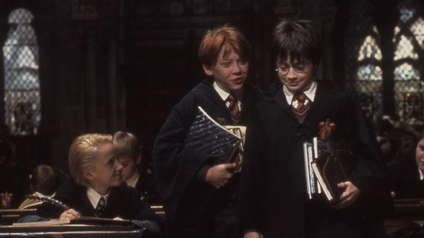 """Tom Felton, Rupert Grint und Daniel Radcliffe in """"Harry Potter und der Stein der Weisen"""" (2001)"""