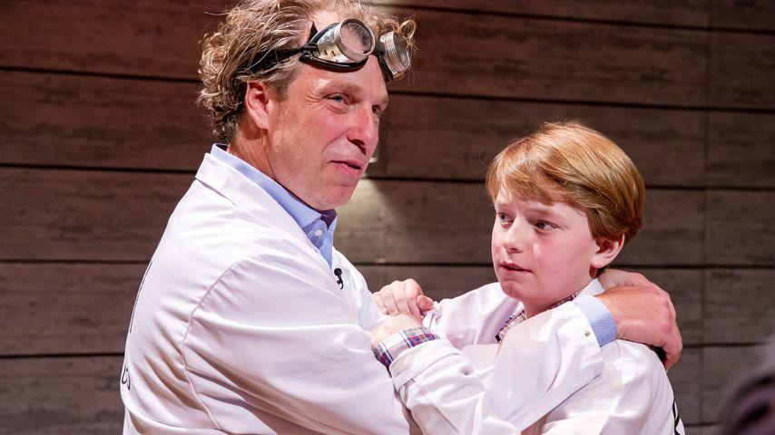 Erfinder Uli Sambeth und sein Sohn Joschua