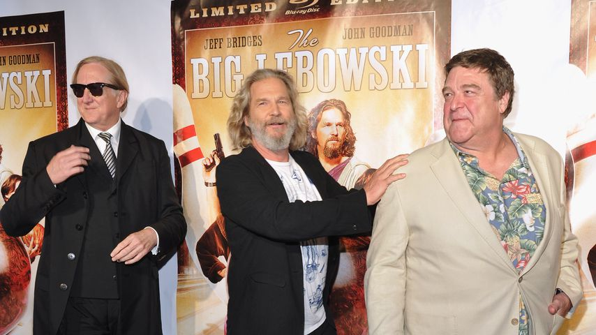 T-Bone Burnett, Jeff Bridges und John Goodman im August 2011