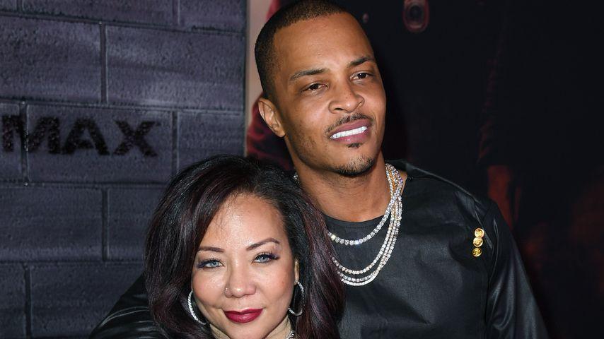 T.I. und Tameka Harris im Jahr 2020