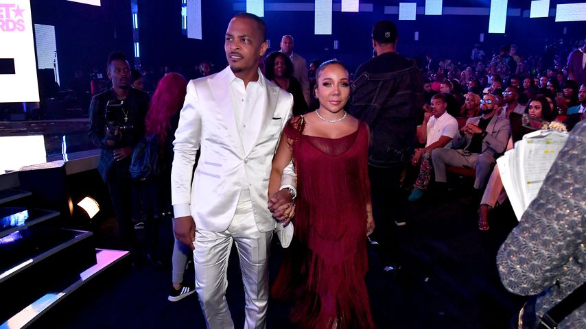 "T.I. und Tameka ""Tiny"" Harris bei den BET Awards 2019"