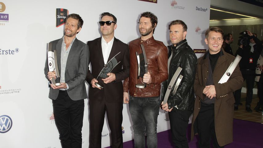 Take That bei der Echo-Verleihung in Berlin, 2011