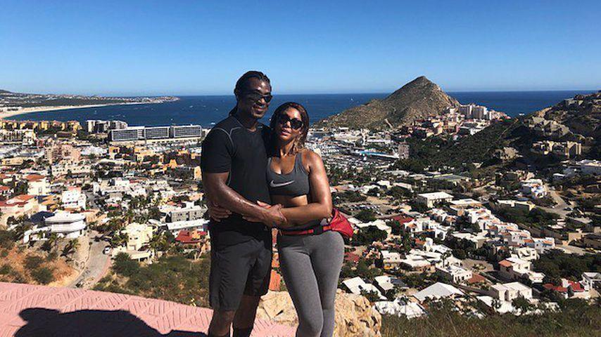 Tamar Braxton mit ihrem Freund David Adefeso
