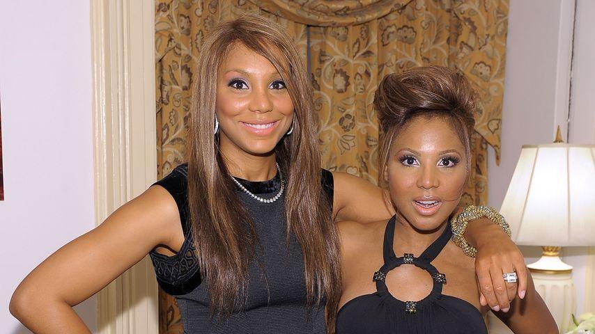 Tamar und Toni Braxton im Mai 2010