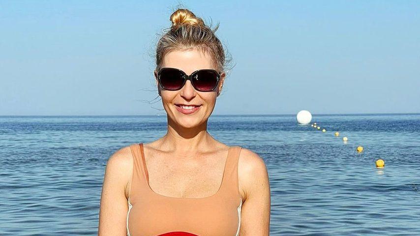Tanja Bülter auf Rhodos, Juli 2021