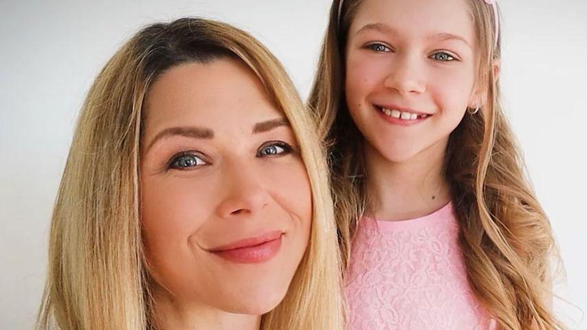 Tanja Szewczenko und ihre Tochter Jona