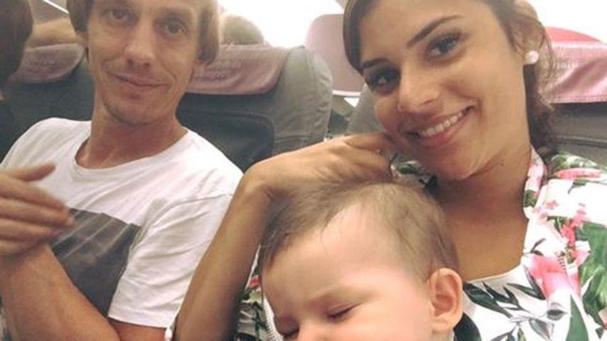 Nach Solo-Sause: Tanja Tischewitsch macht 1. Family-Urlaub