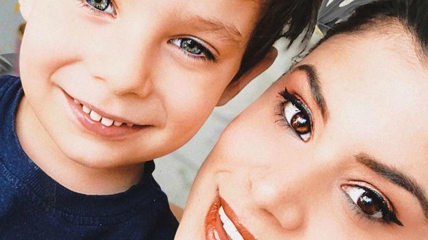Megaselten: Tanja Tischewitsch teilt Foto mit ihrem Sohn
