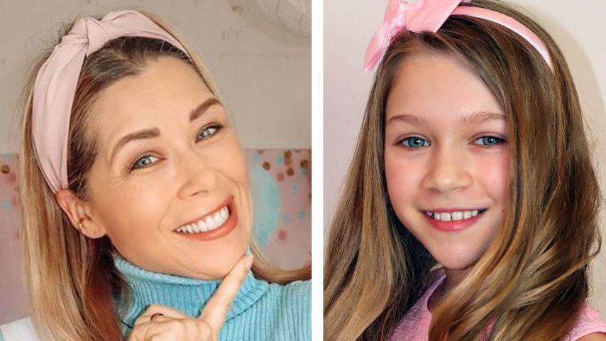 Wow! So ähnlich sehen sich Tanja Szewczenko und Tochter Jona