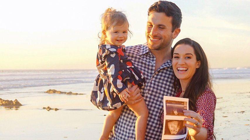 Tanner und Jade Roper Tolbert mit Töchterchen Emerson