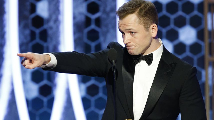 Taron Egerton bei der Golden-Globes-Verleihung 2020