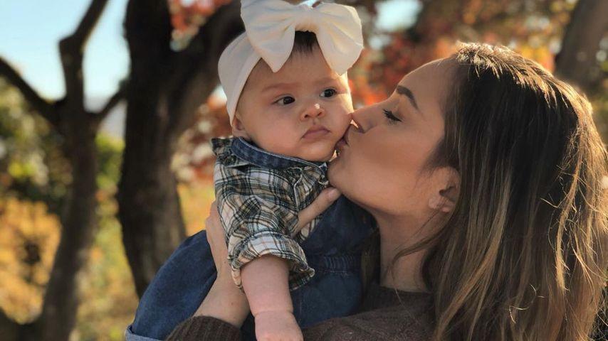 Taylor Selfridge und Baby Mila