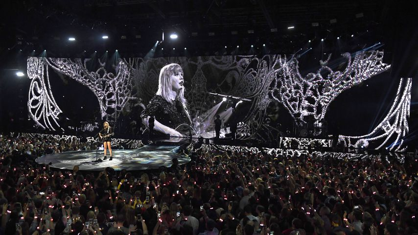 Taylor Swift bei einem Konzert