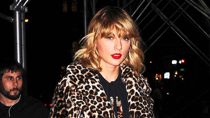 Taylor Swift im November 2016 auf dm Weg zur ihrem Appartement in New York