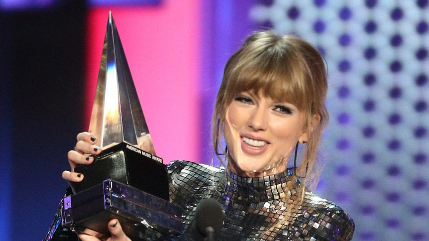 Taylor Swift bei den American Music Awards in Los Angeles, 2018