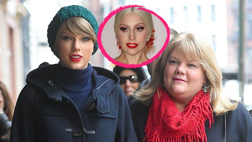 Lady GaGa sendet Tweet-Gebete an Taylor Swift & ihre Mutter