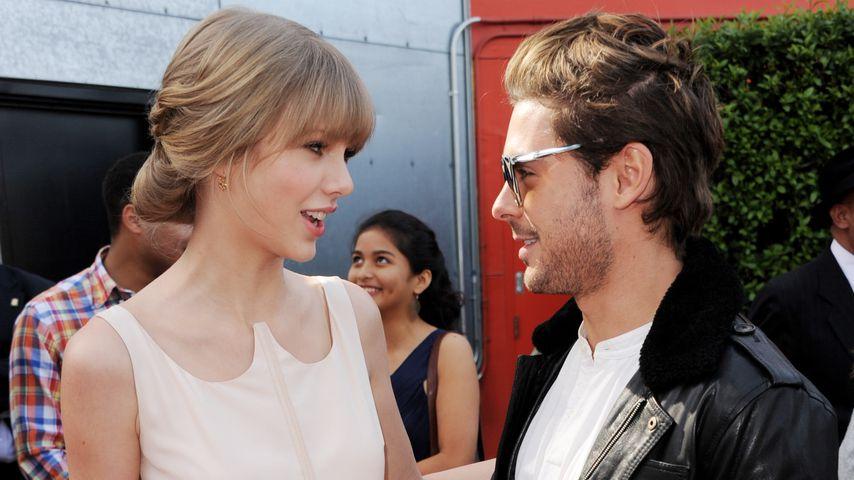 Taylor Swift und Zac Efron im Jahr 2012