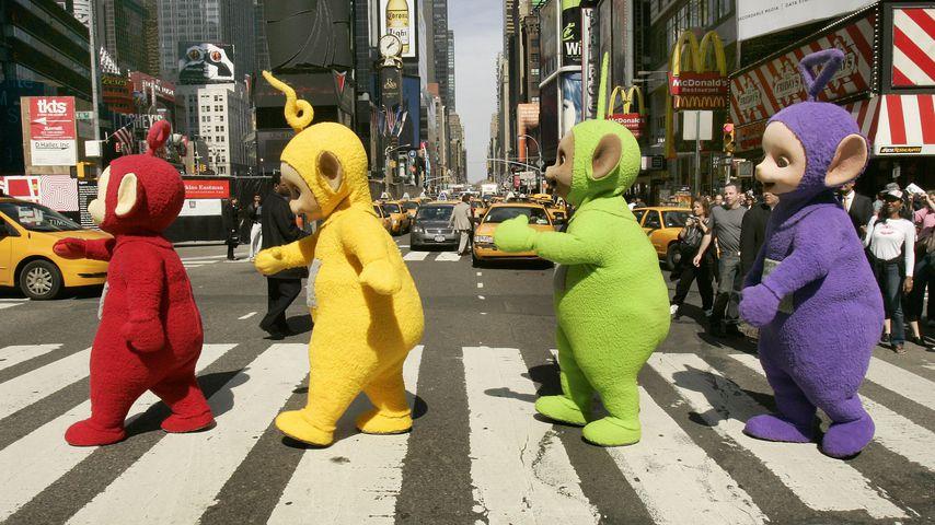 Die Teletubbies 2007 in New York