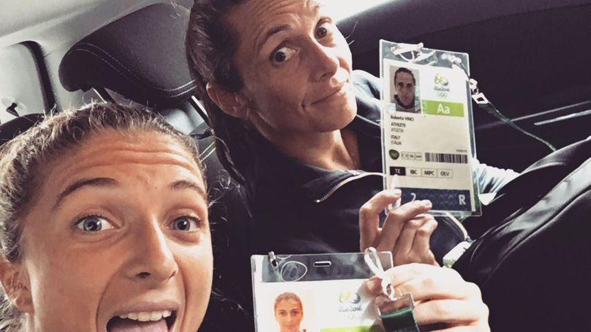 Sara Errani sowie Roberta Vinci, italienische Tennisspielerinnen