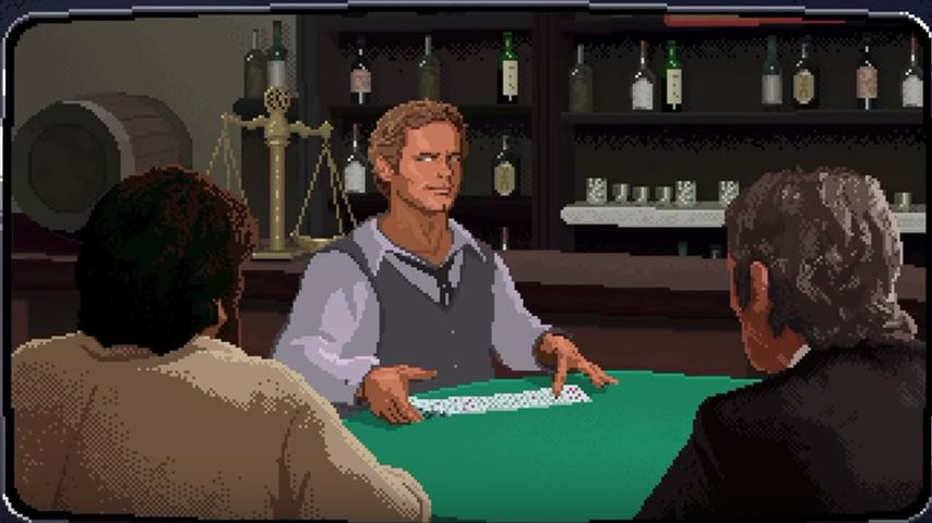 "Terence Hill im Computerspiel ""Slaps And Beans"""