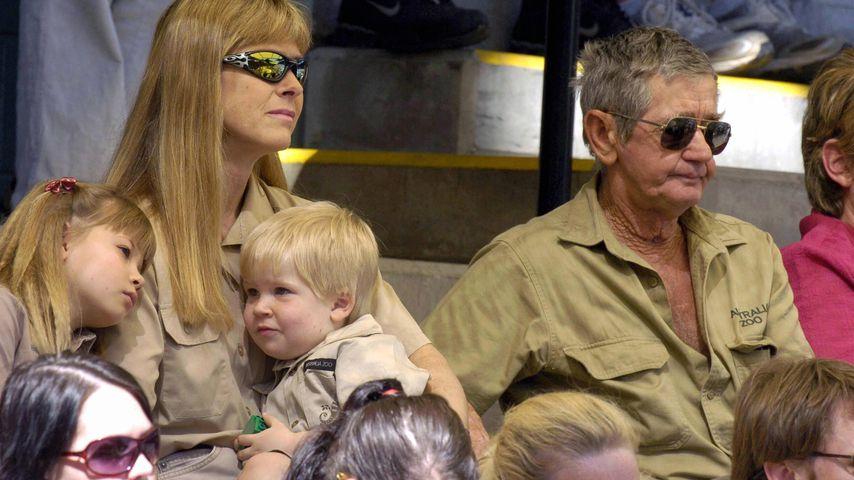 Nach Steve Irwins Tod: Vater Bob hat keinen Kontakt zu Enkel