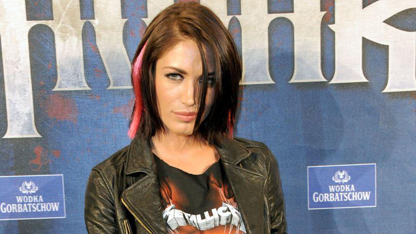 Tessa Bergmeier beim Metal Hammer Award 2013
