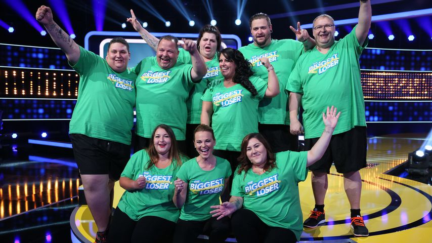 "Team Grün bei ""The Biggest Loser"" 2018"