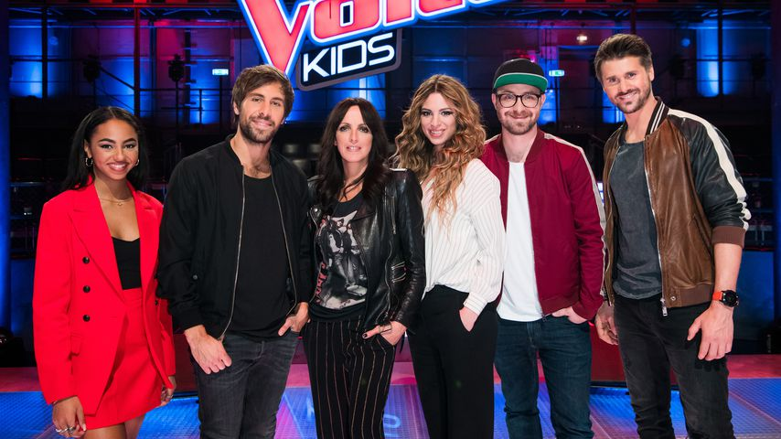 "Die ""The Voice Kids""-Jury und Moderatoren"