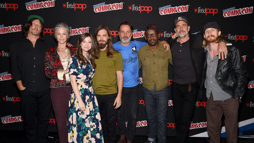 """The Walking Dead""-Cast bei der Comic Con New York 2017"