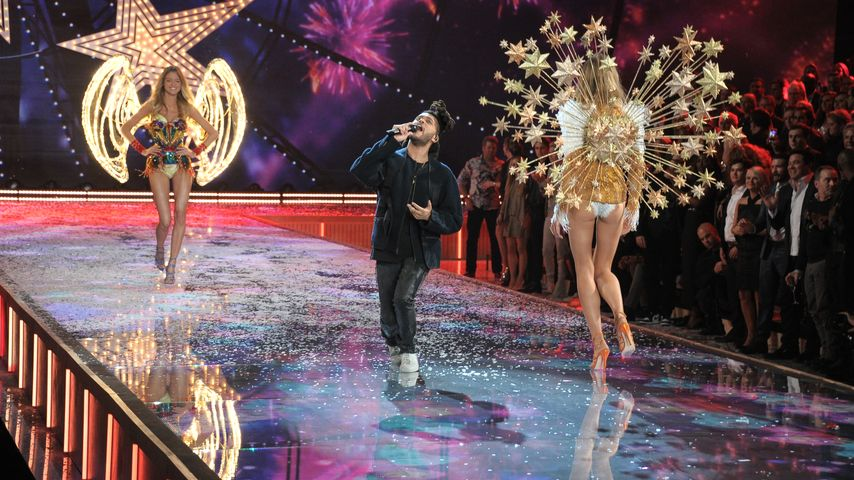 "The Weeknd bei der ""Victoria's Secret""-Show 2015"