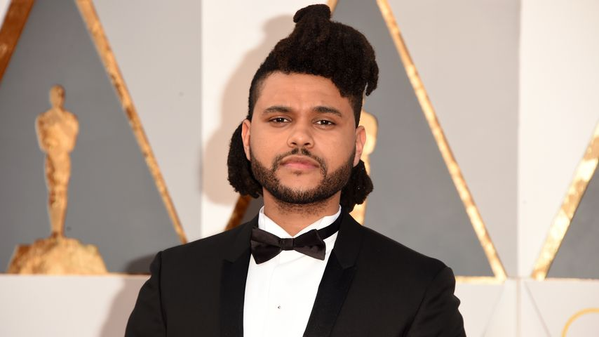 The Weeknd bei den Oscars in Hollywood im Februar 2016