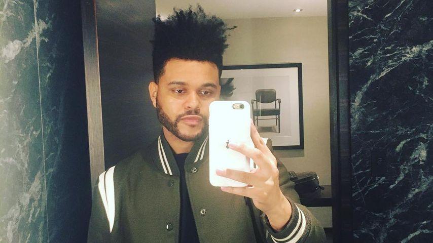 Mit Selfie: The Weeknd ignoriert Trennungs-Schlagzeilen!